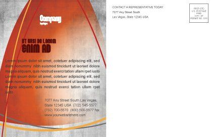 Dynamite Postcard Template Inner Page