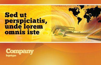 Transworld Logistics Postcard Template, Outer Page, 05722, Cars/Transportation — PoweredTemplate.com