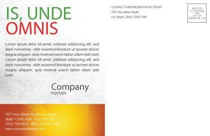 Archers Postcard Template, Inner Page, 07800, Business Concepts — PoweredTemplate.com