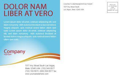 Summer Camp Postcard Template, Inner Page, 08110, Education & Training — PoweredTemplate.com