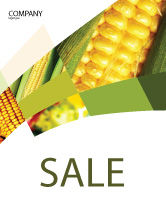 Food & Beverage: Maize Sale Poster Template #00973