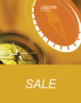 Business Concepts: Compass Sale Poster Template #01284