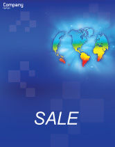 Global: Continental Sale Poster Template #01593