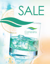 Food & Beverage: Drink Sale Poster Template #01594