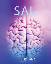Medical: Brain Sale Poster Template #01606