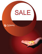 Medical: Pharmacies Sale Poster Template #01637