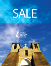 Religious/Spiritual: San Francisco de Asis Mission Church Sale Poster Template #01655