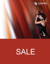 Art & Entertainment: Dancing Couple Sale Poster Template #01762