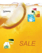 Food & Beverage: Cocktail Party Sale Poster Template #01765