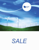 Technology, Science & Computers: Wind Energy Sale Poster Template #01801