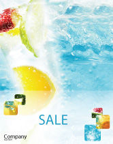 Food & Beverage: Soft Drink Sale Poster Template #01808