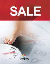 Sports: Weight Loss Sale Poster Template #01904