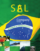 Abstract/Textures: Templat Poster Bendera Brasil #01915