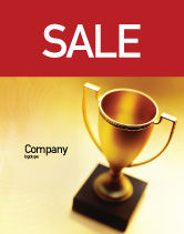 Sports: Winner Cup Sale Poster Template #01933