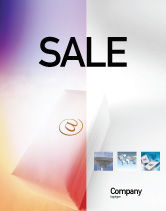 Telecommunication: Internet Links Sale Poster Template #01935