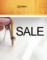 Careers/Industry: Draftsman Sale Poster Template #01937