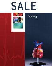 Medical: Templat Poster Model Jantung #01960