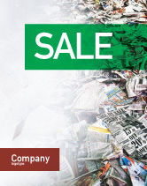 Nature & Environment: Recycle Industry Sale Poster Template #01961