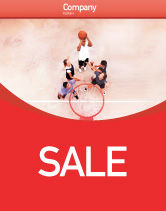 Sports: Streetball Sale Poster Template #01979