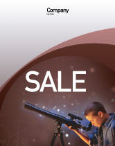Education & Training: Astronomy Sale Poster Template #01987