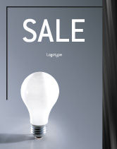 Business Concepts: Idea Sale Poster Template #01989
