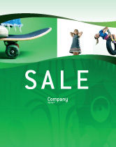 Sports: Skateboard Sale Poster Template #01993