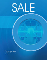 Technology, Science & Computers: Cybernetics Sale Poster Template #02046