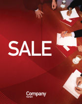 Business: Briefing Sale Poster Template #02048