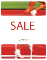 Sports: Race Sale Poster Template #02056