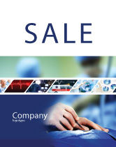 Medical: Urgent Surgery Sale Poster Template #02063