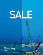 Utilities/Industrial: Port Sale Poster Template #02081