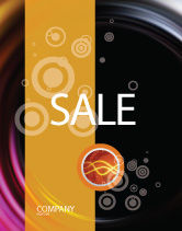 Abstract/Textures: Whirlpool Sale Poster Template #02087