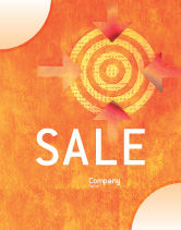 Business Concepts: Target Sale Poster Template #02098