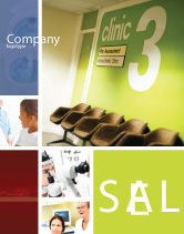 Medical: Clinic Sale Poster Template #02147