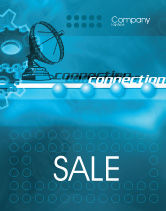 Telecommunication: Telecommunication Systems Sale Poster Template #02168