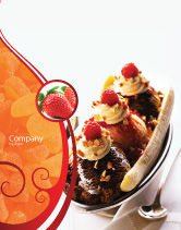 Food & Beverage: Banana Split Sale Poster Template #02192