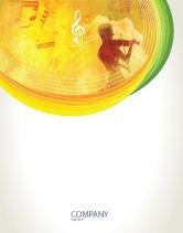 Art & Entertainment: Musician Sale Poster Template #02194