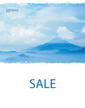 Nature & Environment: Fujiyama Sale Poster Template #02226