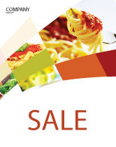 Food & Beverage: Italian Food Sale Poster Template #02244