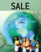 People: Templat Poster Anak-anak Di Dunia #02279