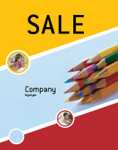 Education & Training: Pencil Sale Poster Template #02294