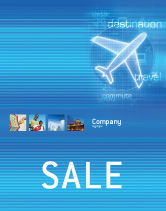 Cars/Transportation: Airways Poster Template #02321