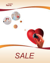 Consulting: Key To Heart Sale Poster Template #02333