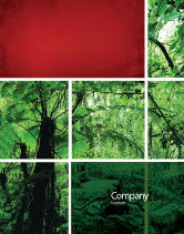 Nature & Environment: Tropical Forest Sale Poster Template #02355