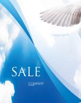 Religious/Spiritual: Holy Spirit Sale Poster Template #02361