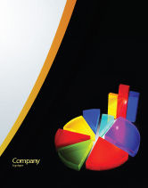 Financial/Accounting: Pie Chart Sale Poster Template #02458