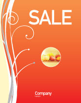 Food & Beverage: Juice Sale Poster Template #02489