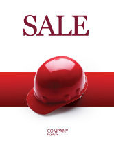 Careers/Industry: Personal Safety Sale Poster Template #02510