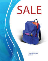 Education & Training: School Backpack Sale Poster Template #02577