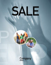 Religious/Spiritual: Help Sale Poster Template #02584